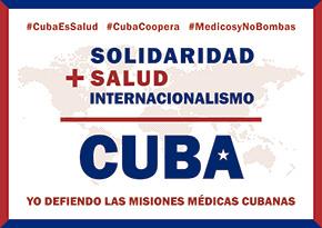 Campaña #MédicosYNoBombas
